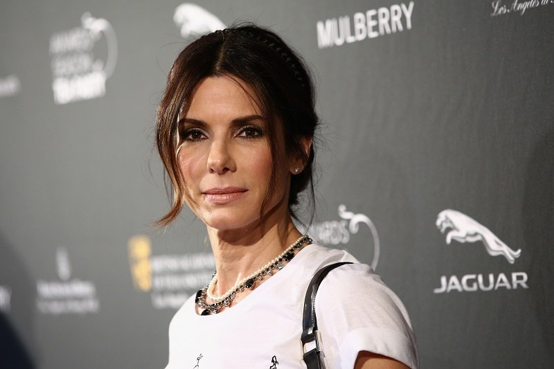 Sandra Bullock on January 11, 2014 in Beverly Hills, California   Photo: Getty Images