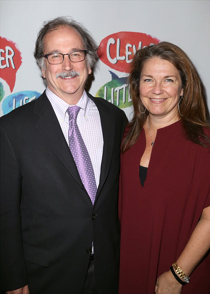 Mark Linn-Baker and Christa Justus attend the Off-Broadway opening night performance of 'Clever little Lies' at the Westside Theatre on October 12, 2015 | Photo: Getty Images