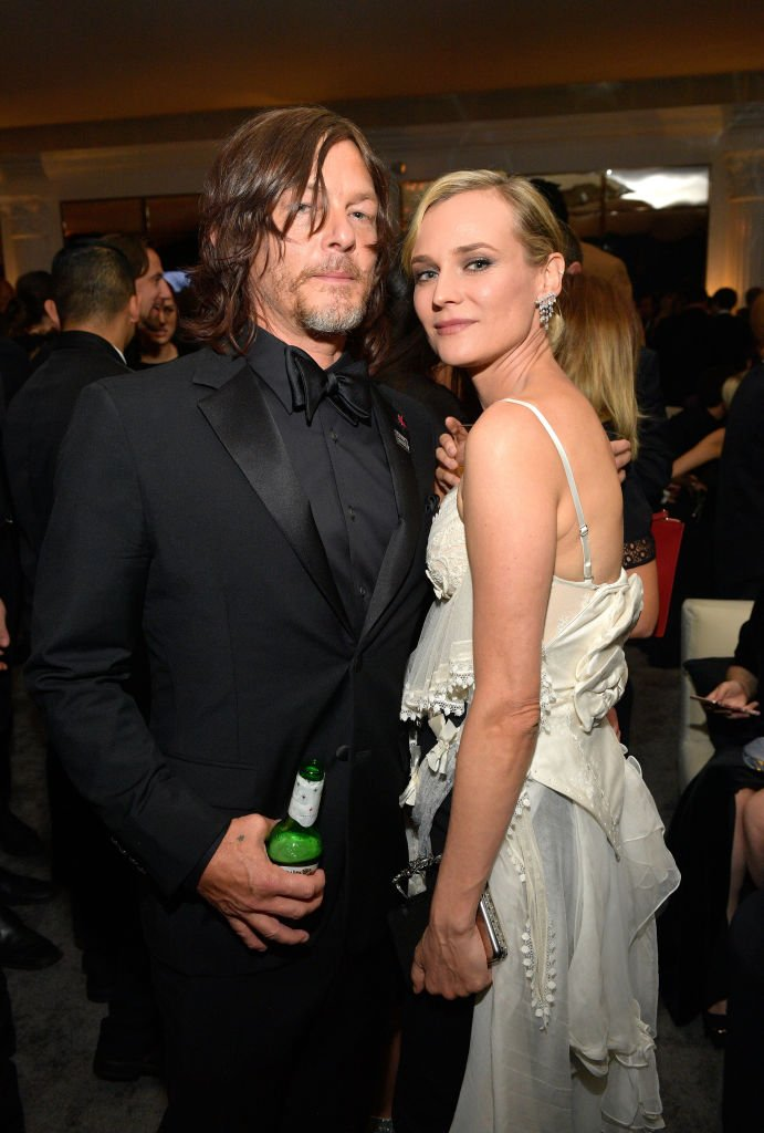 Norman Reedus and Diane Kruger on January 7, 2018 in Beverly Hills, California | Photo: Getty Images