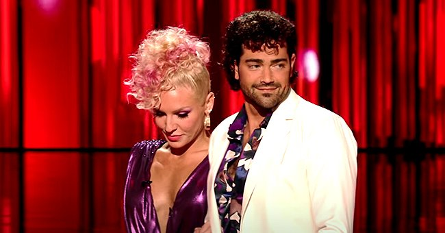 DWTS' Sharna Burgess and Jesse Metcalfe Eliminated after Performing Tango on '80s Night