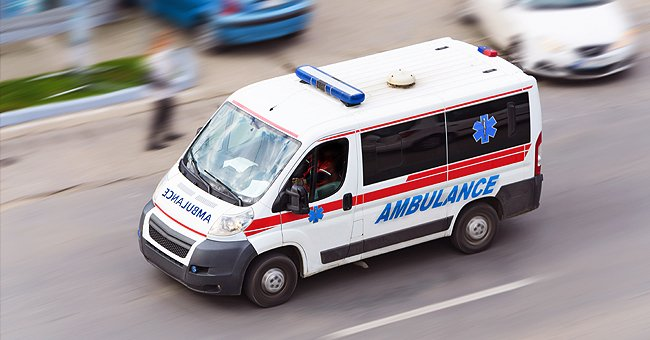 Une ambulance. | Photo : shutterstock