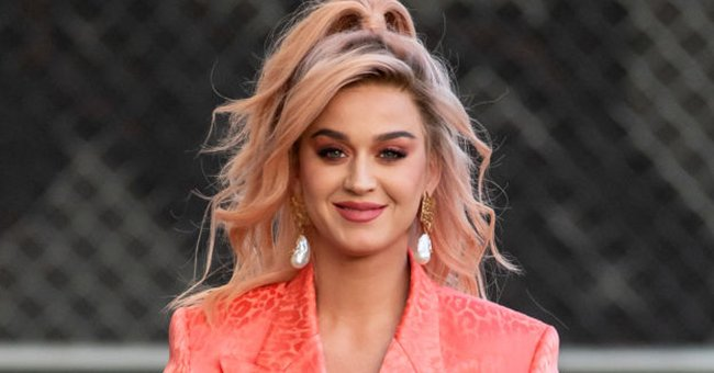 """Katy Perry at """"Jimmy Kimmel Live"""" on February 12, 2020, in Los Angeles, California   Photo: RB/Bauer-Griffin/GC Images/Getty Images"""