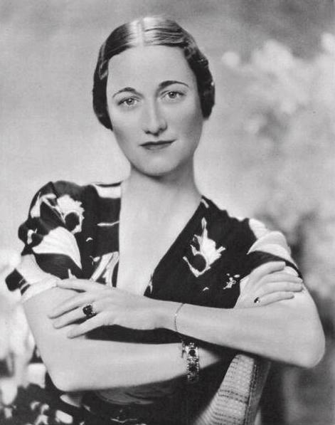 Portrait de Wallis Simpson, 1936. | Source: Wikipedia.
