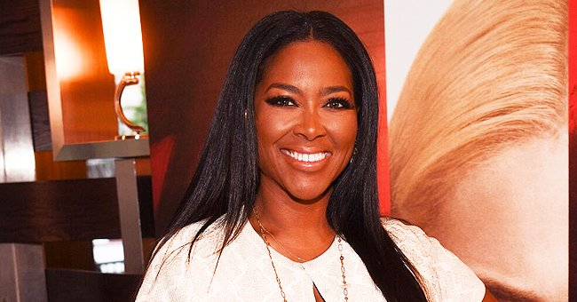 Kenya Moore of 'Real Housewives' Shares Video of Daughter Brooklyn Riding Her New Slide