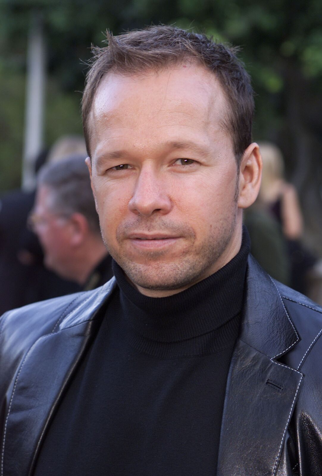 """Donnie Wahlberg at the premiere of HBO's """"Band of Brothers"""" at the Hollywood Bowl, Los Angeles on August 28, 2001 