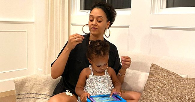Tia Mowry of 'Sister, Sister' Shares Favorite Bonding Moment with Daughter Cairo