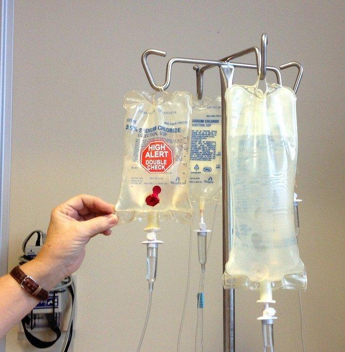 Tratamiento de quimioterapia. | Imagen tomada de: Pixabay