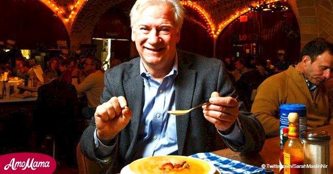 Un homme chanceux est venu au restaurant pour déjeuner mais a fini par trouver une perle de 4 000 $ dans son repas