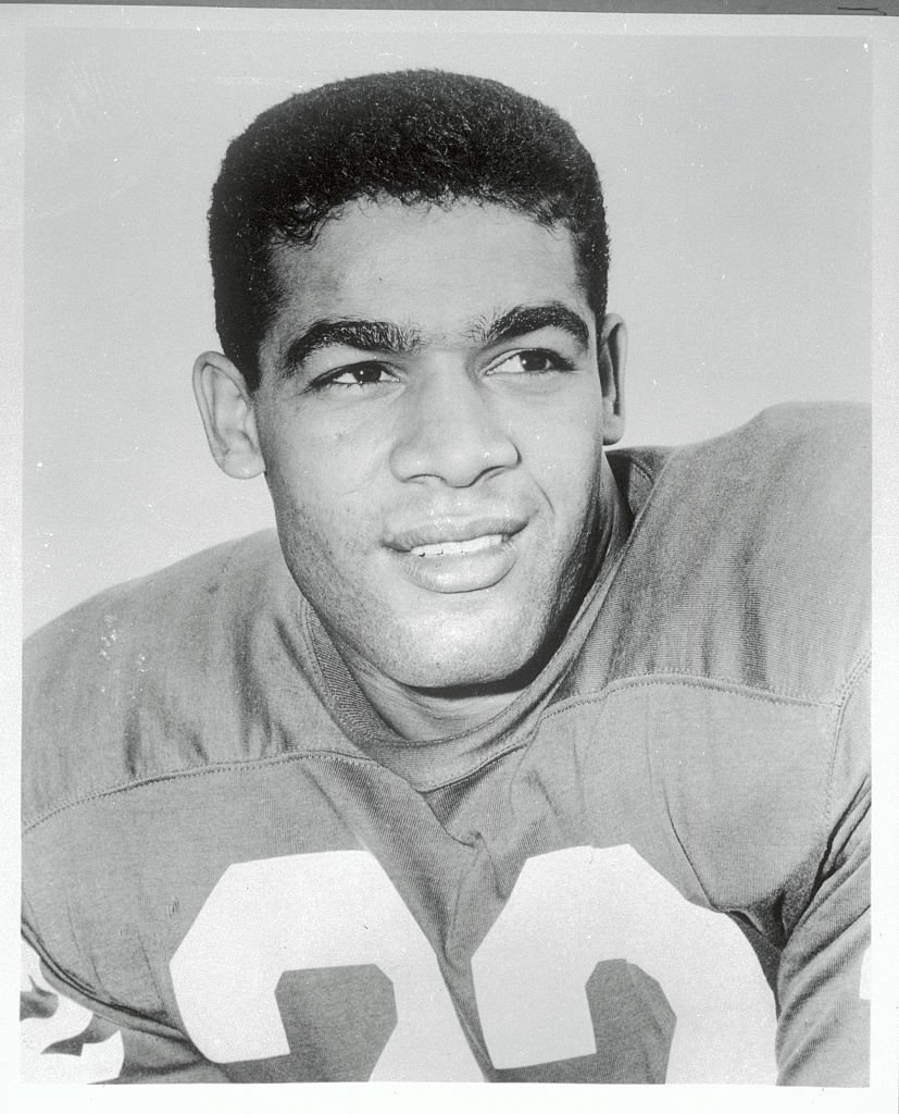 Portrait of Timmy Brown, Offensive Back for the Philadelphia Eagles. Filed on 1/19/68 | Photo: Getty Images