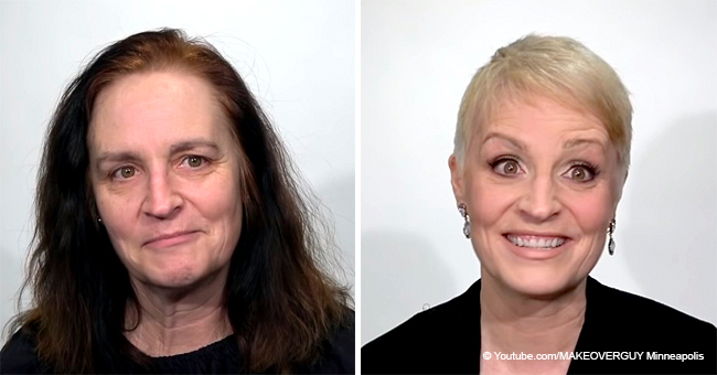 Woman Looks Unrecognizable after a Drastic Makeover for Her 27th Wedding Anniversary