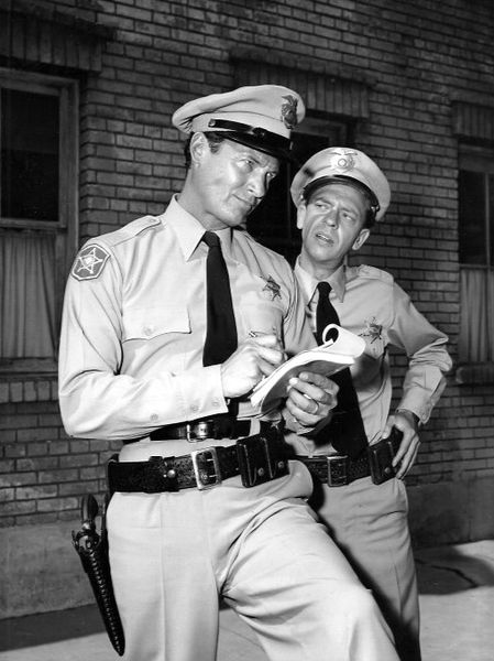 "Don Knotts as Barney Fife from ""The Andy Griffith Show."" 