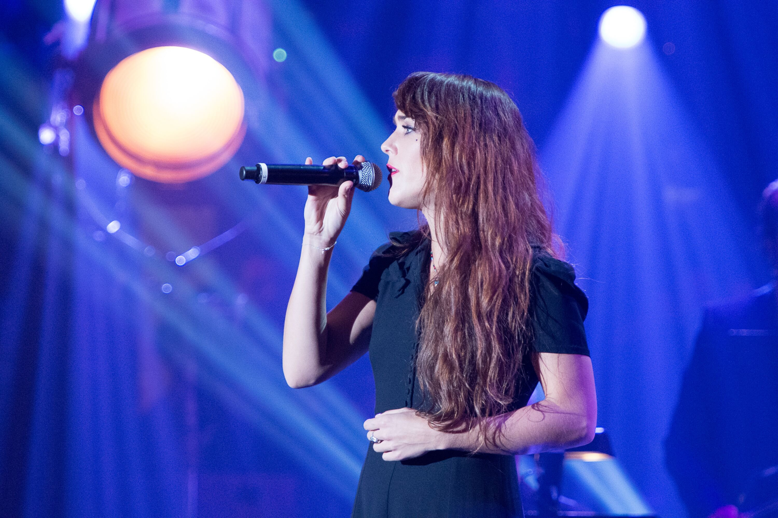 Zaz en concert. l Source: Getty Images