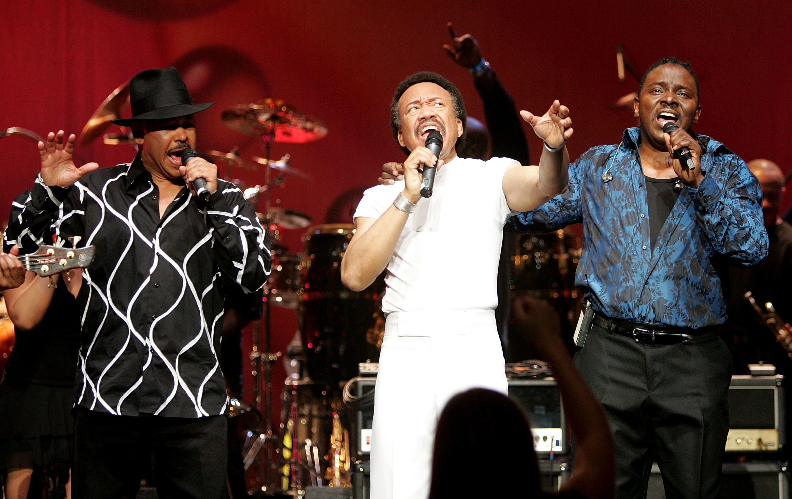 Earth, Wind & Fire performing onstage | Source: Getty Images/GlobalImagesUkraine