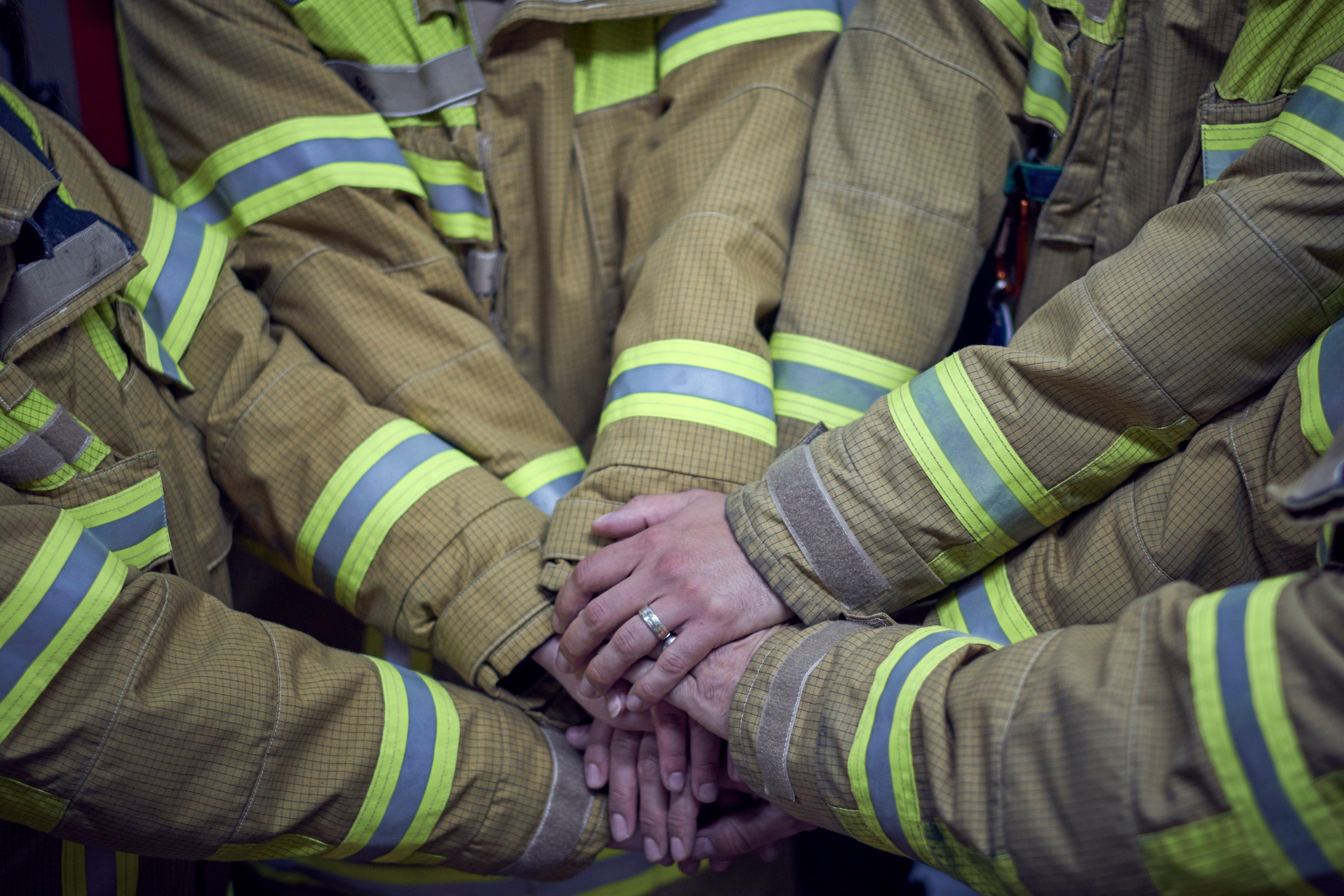 Solidarité des pompiers   photo : shutterstock
