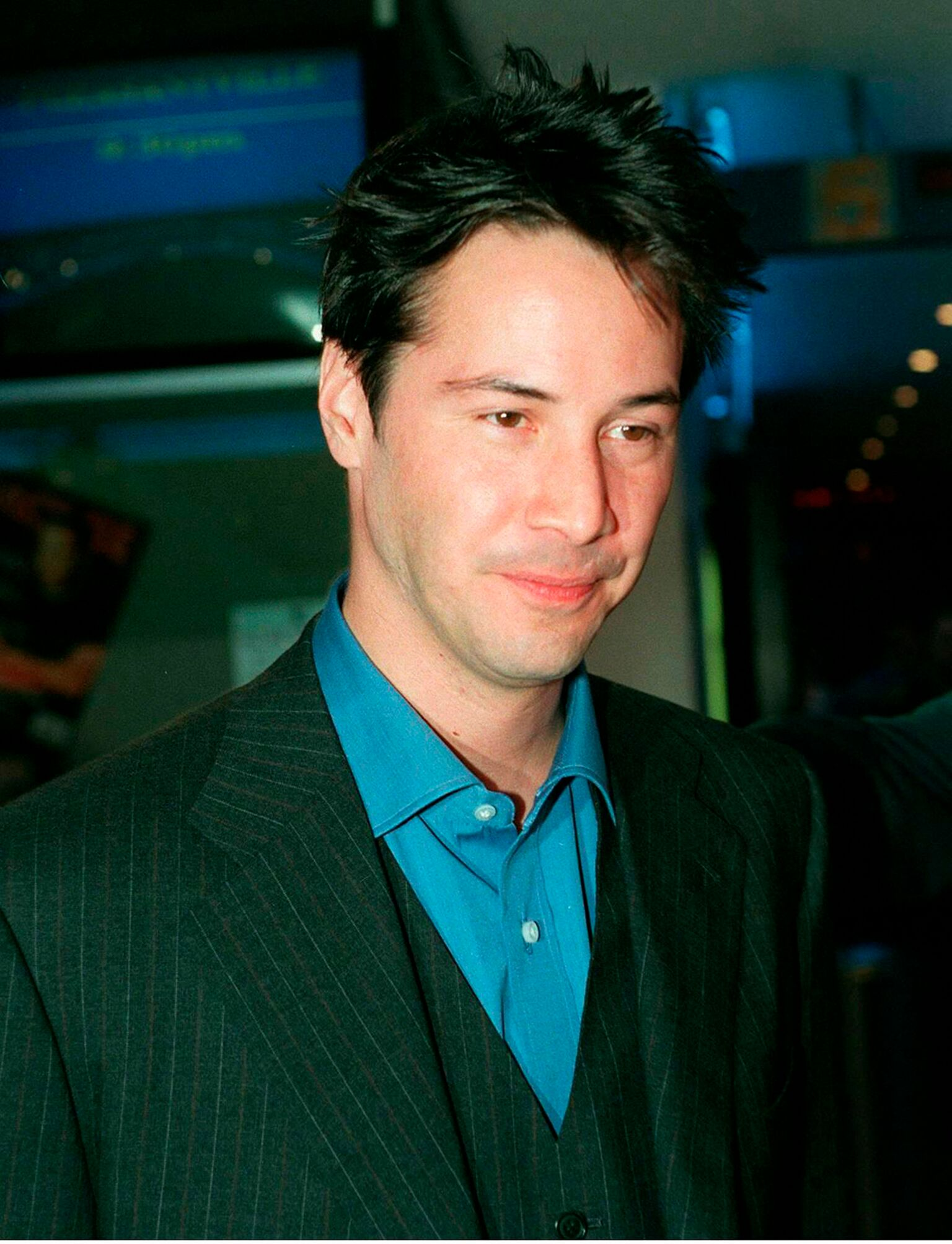 Keanu Reeves nimmt an der australischen Premiere von The Matrix in Sydney, Australien, teil  | Quelle: Getty Images