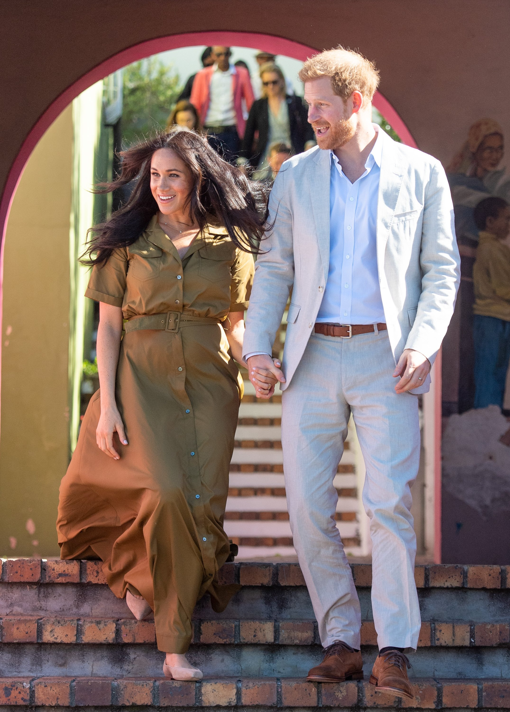 Meghan Markle and Prince Harry attend Heritage Day in Cape Town, South Africa on September 24, 2019 | Photo: Getty Images