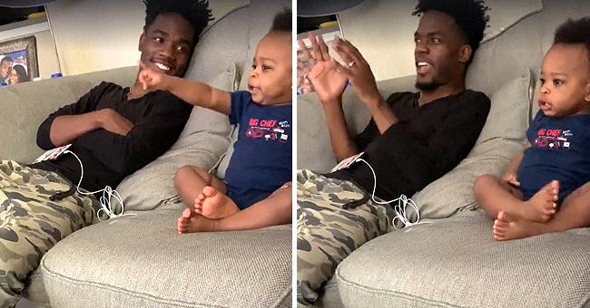 Toddler Hilariously Discusses a TV Show with His Dad, and Their Conversation Is Going Viral