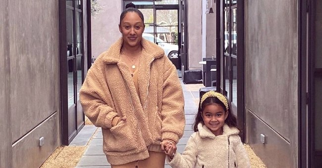 Tamera Mowry's Daughter Ariah Smiles in a White Dress Showing Strong Likeness to Her in New Pics