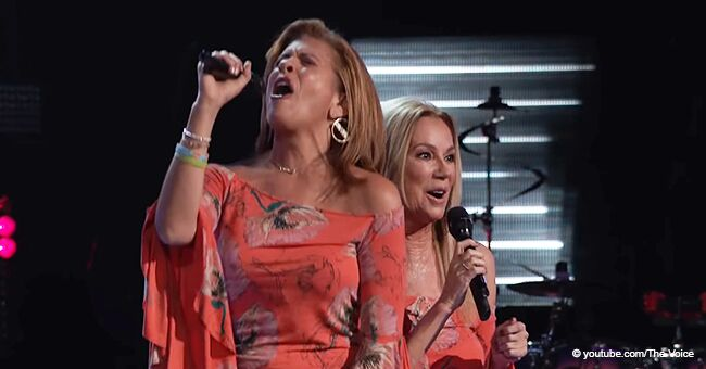 Hoda Kotb and Kathie Lee Gifford Sang at 'The Voice,' and the Judges' Reactions Were Pure Gold