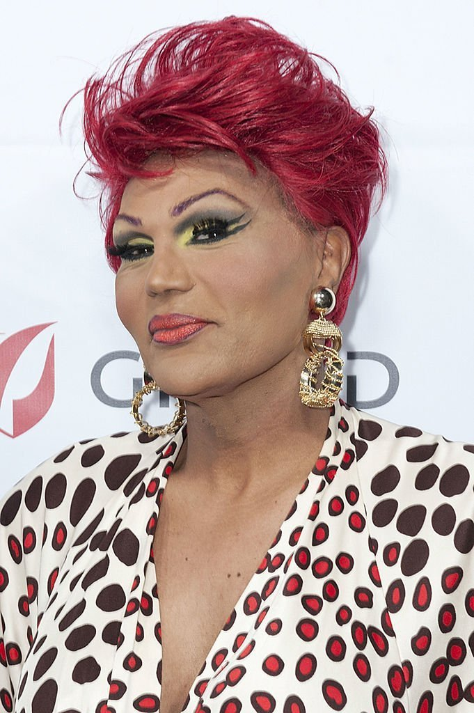 Trans comedian Flame Monroe attending an HIV/AIDS benefit concert in October 2013. | Photo: Getty Images