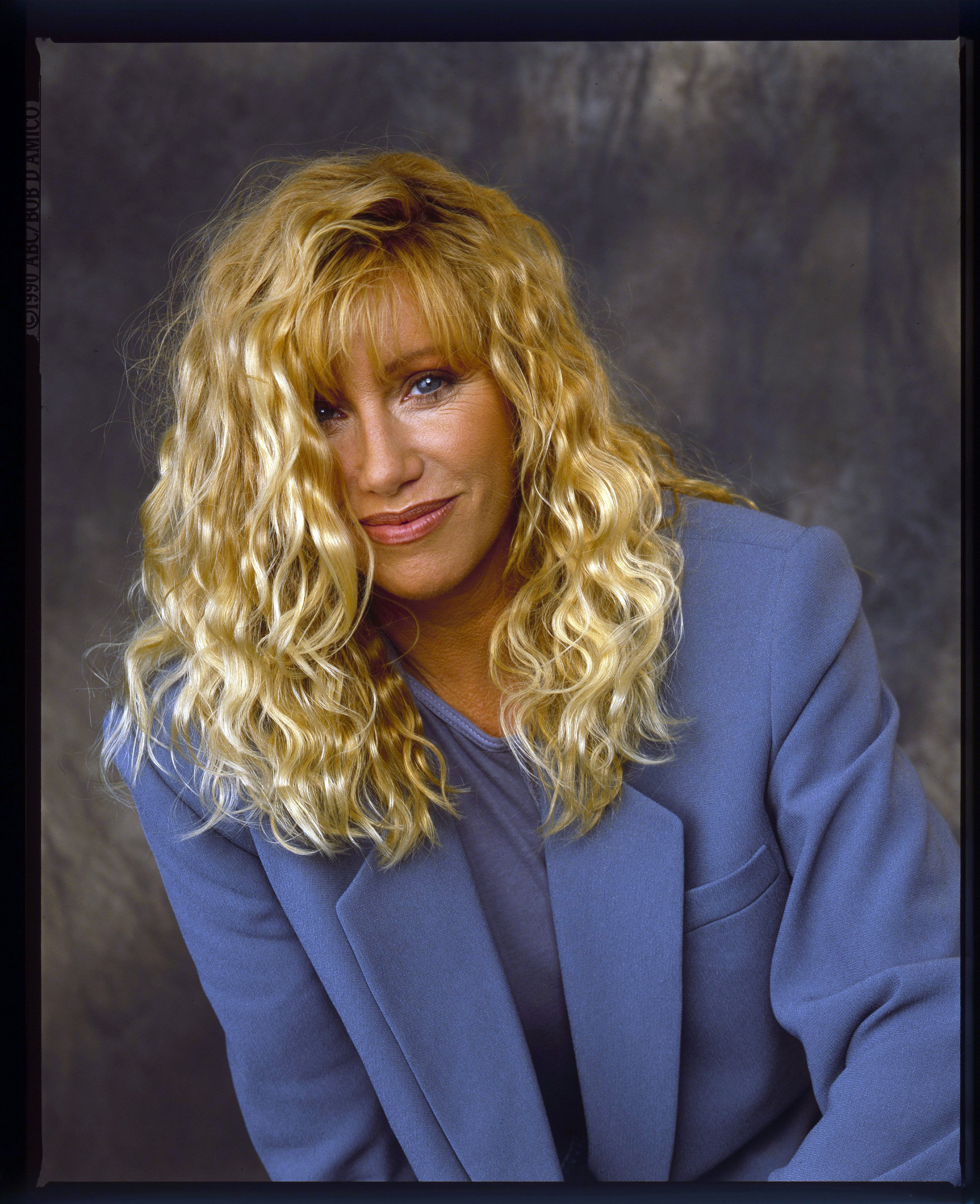 A young Suzanne Somers in 1991. | Photo: Getty Images