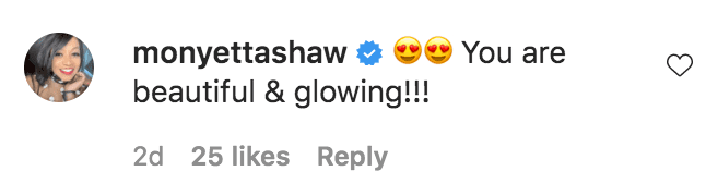 Monyetta Shaw commented on a photo of Torrei Hart at Studio City in Los Angeles, California | Source: Instagram.com/torreihart