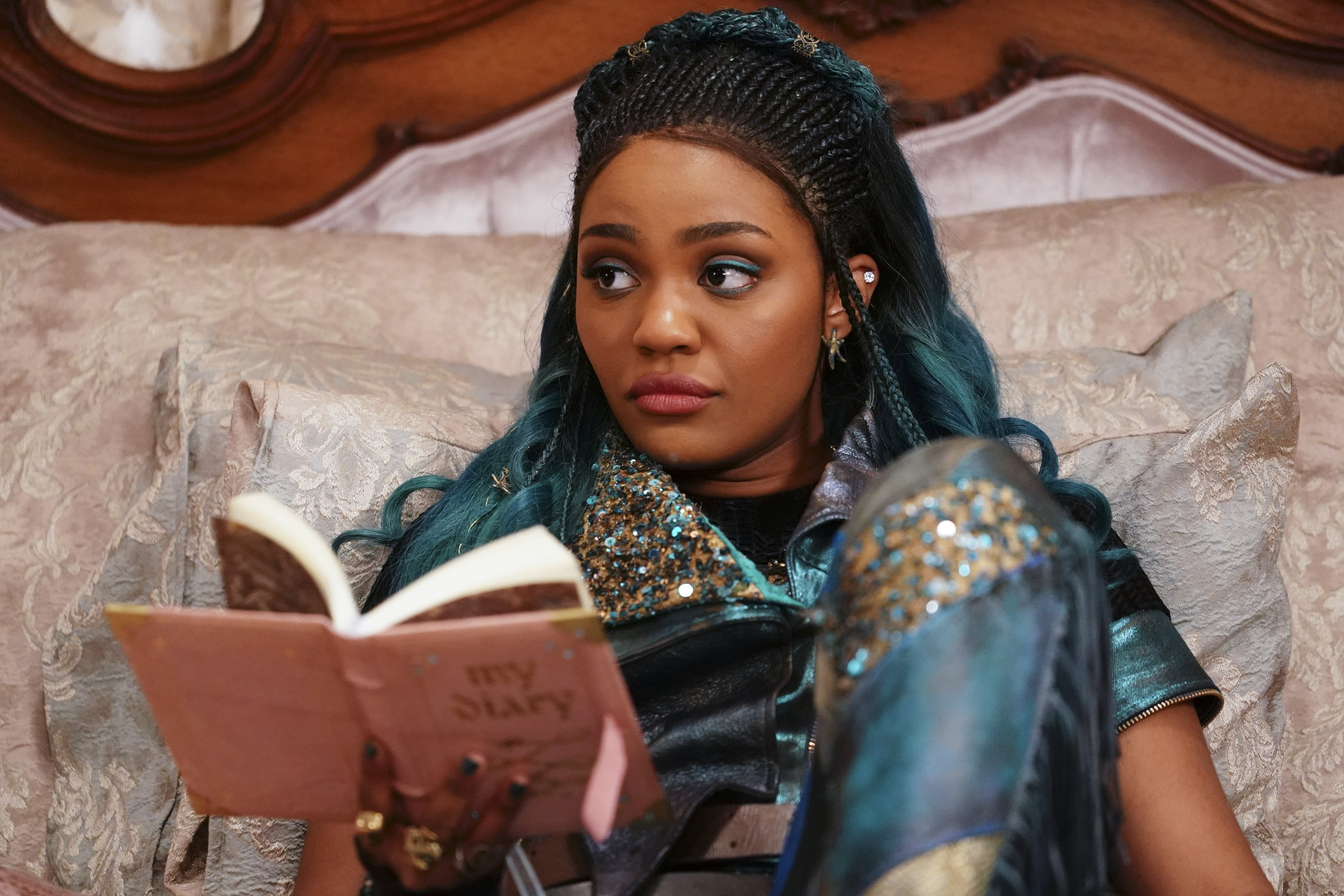"""China Anne McClain as Uma in Disney Channel's """"Descendants 3"""" 
