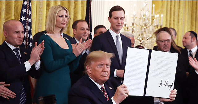 Ivanka Trump Stuns in Gorgeous Green Frock with Jared Kushner at Hanukkah Reception