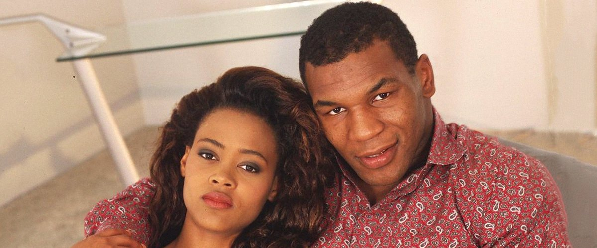 A picture of Mike Tyson and his ex-wife Robin Givens | Photo: Getty Images
