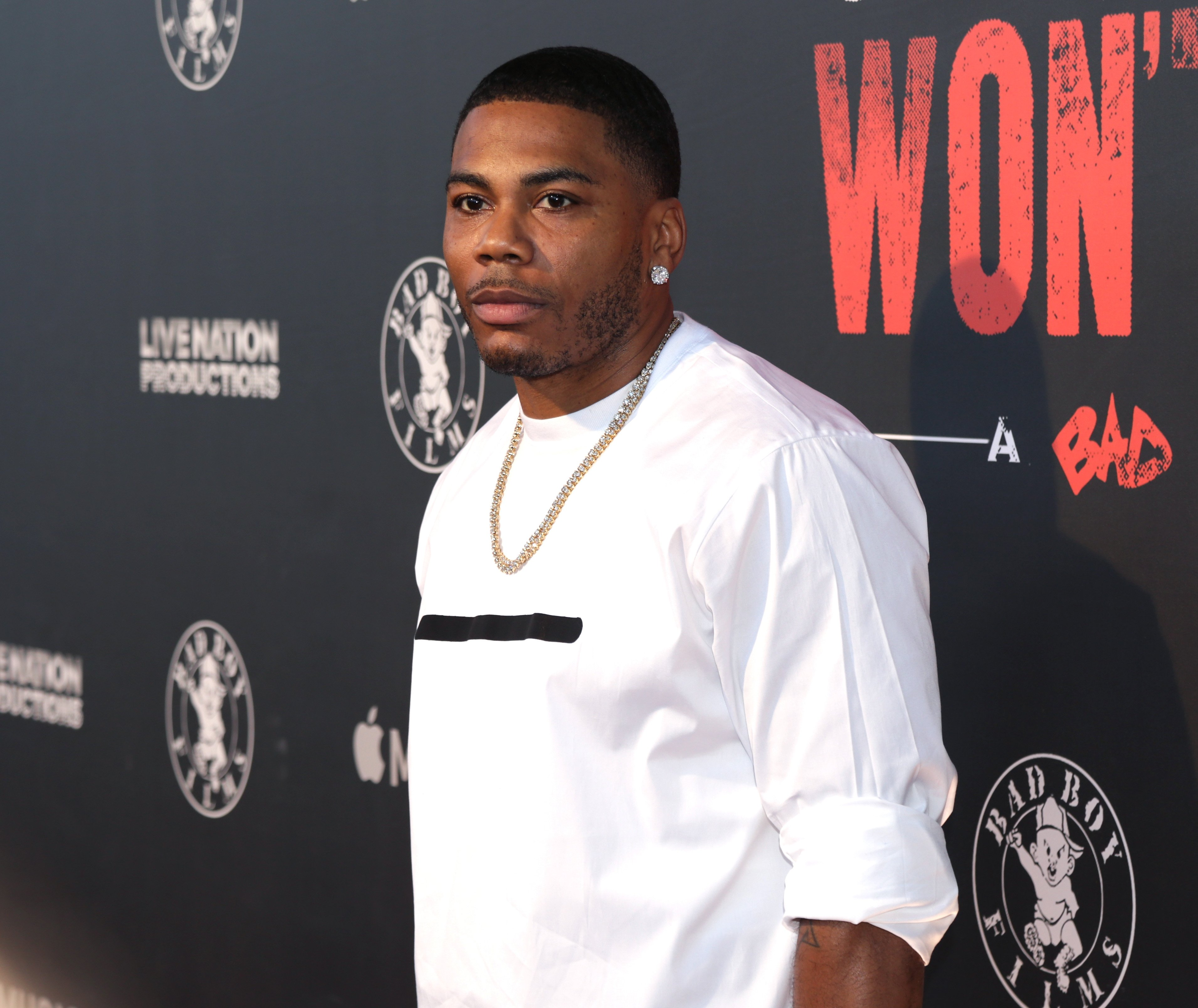 """Nelly attends the Los Angeles Premiere Of """"Can't Stop Won't Stop"""" at Writers Guild of America, West on June 21, 2017 in Los Angeles, California.  