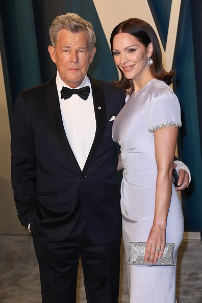 Katharine McPhee and David Foster on February 09, 2020 in Beverly Hills, California. | Photo: Getty Images
