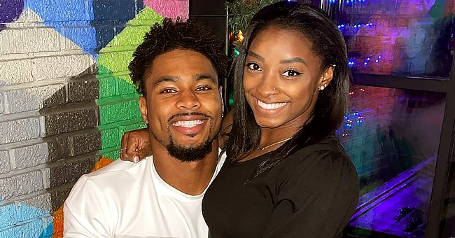 Simone Biles Spends Christmas with Boyfriend Jonathan Owens & His Family in Matching Pajamas