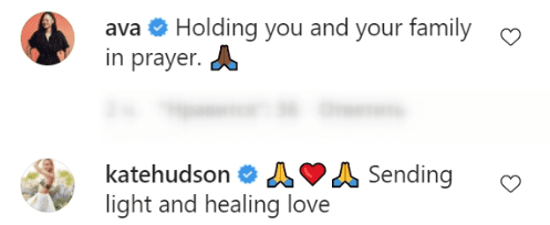 More comments wishing Sharon Stone's nephew a quick recovery | Source: Instagram/ Sharon Stone