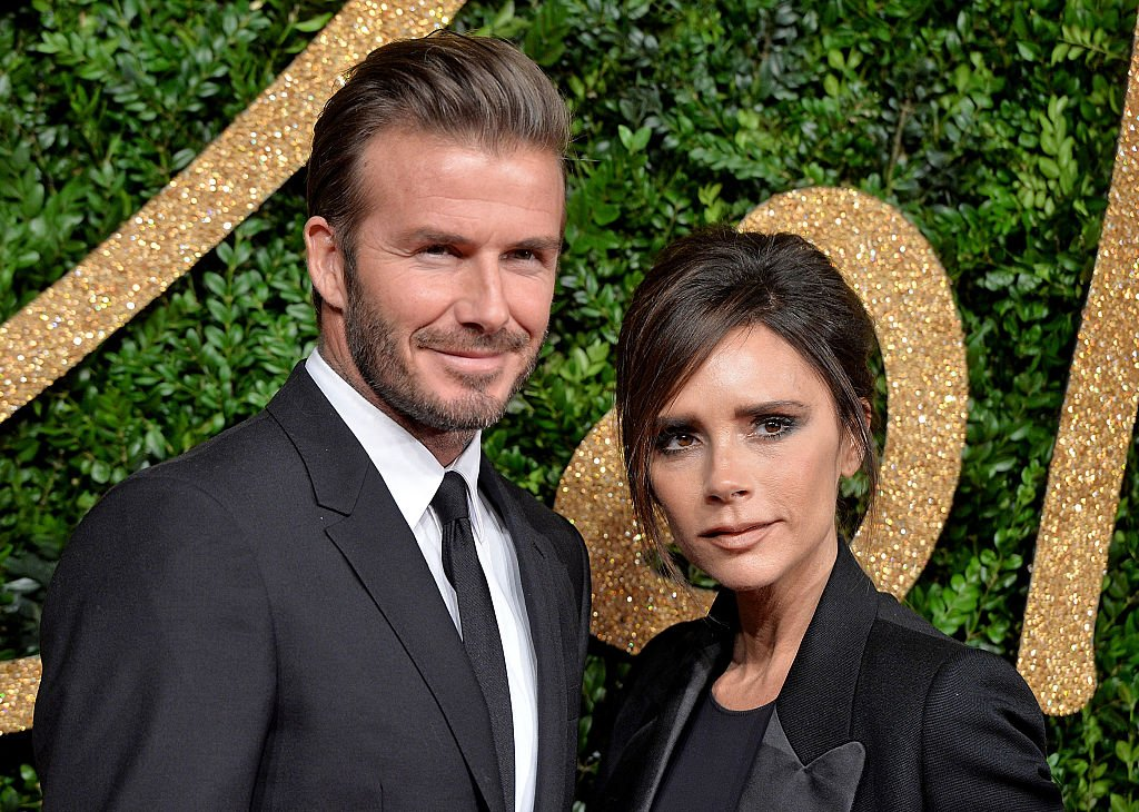 David and Victoria Beckham attend the British Fashion Awards in London, England in November, 2015 | Photo: Getty Images