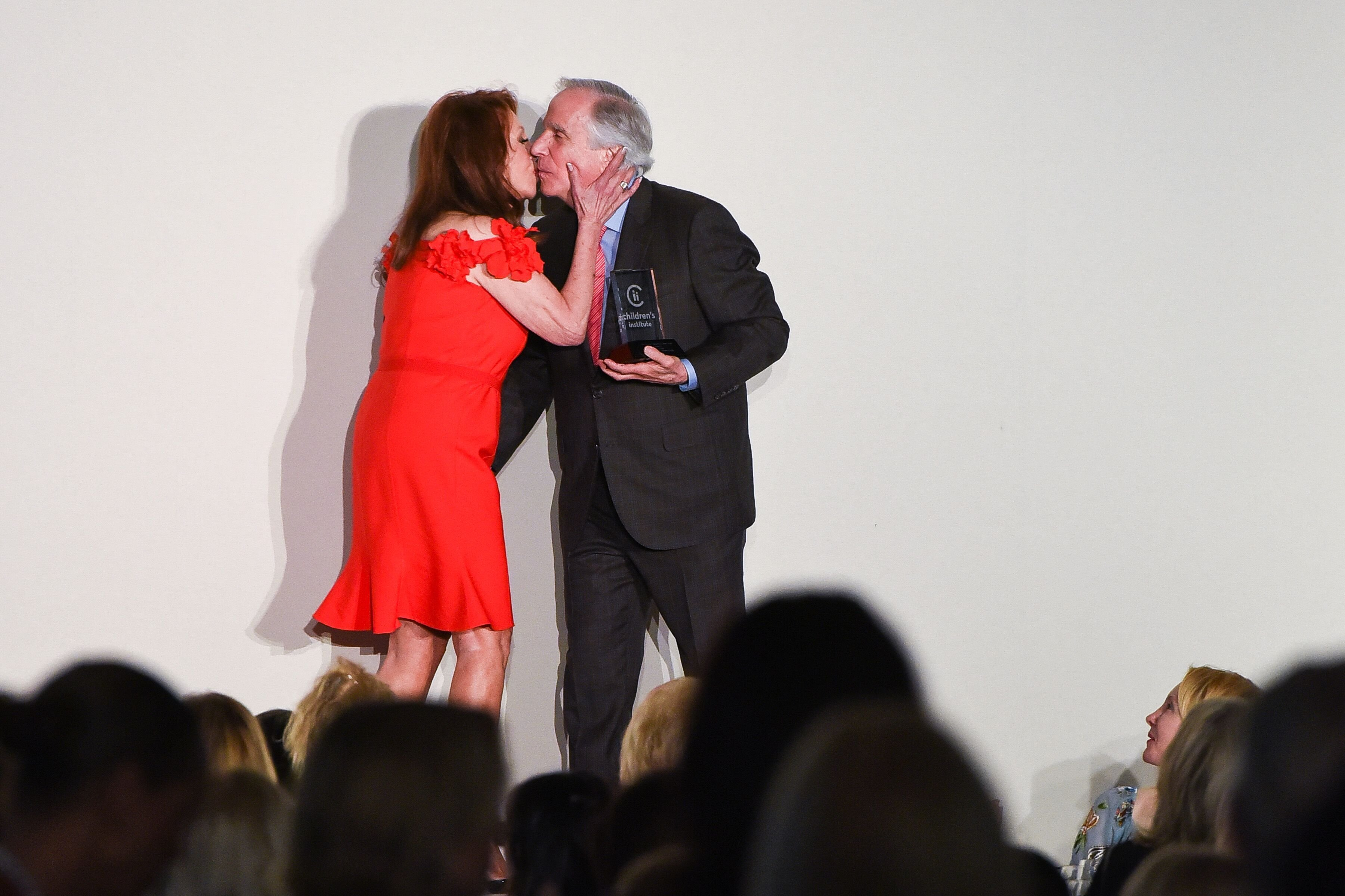 Marlo Thomas and Henry Winkler attend 31st Annual Colleagues Luncheon. | Source: Getty Images