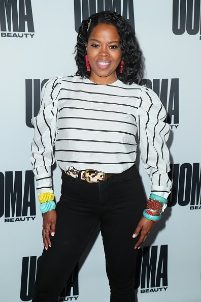 Malinda Williams attends House Of Uoma Presents The Launch Of Uoma Beauty on April 25, 2019 | Photo: Getty Images