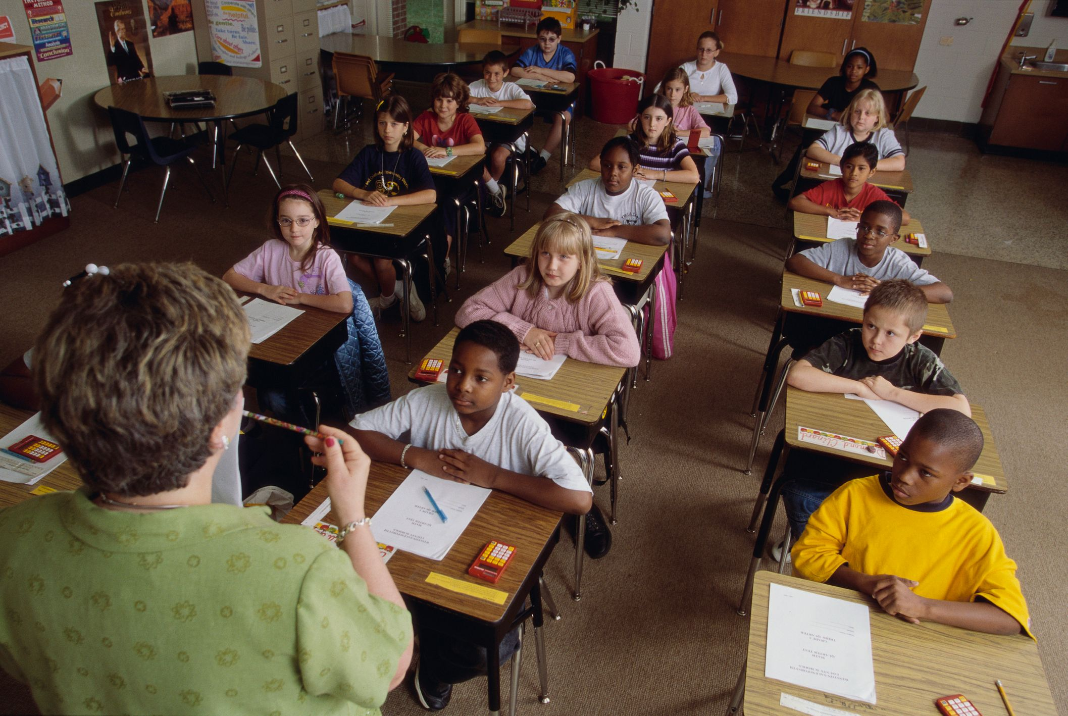 Teacher Going over Exam Instructions   Getty Images