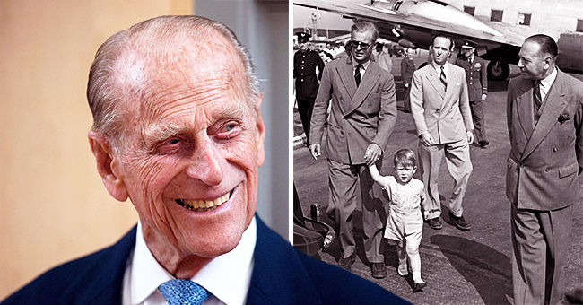 Prince Charles, 2, Looked Adorable in a Rare Photo Published on Prince Philip's 98th Birthday