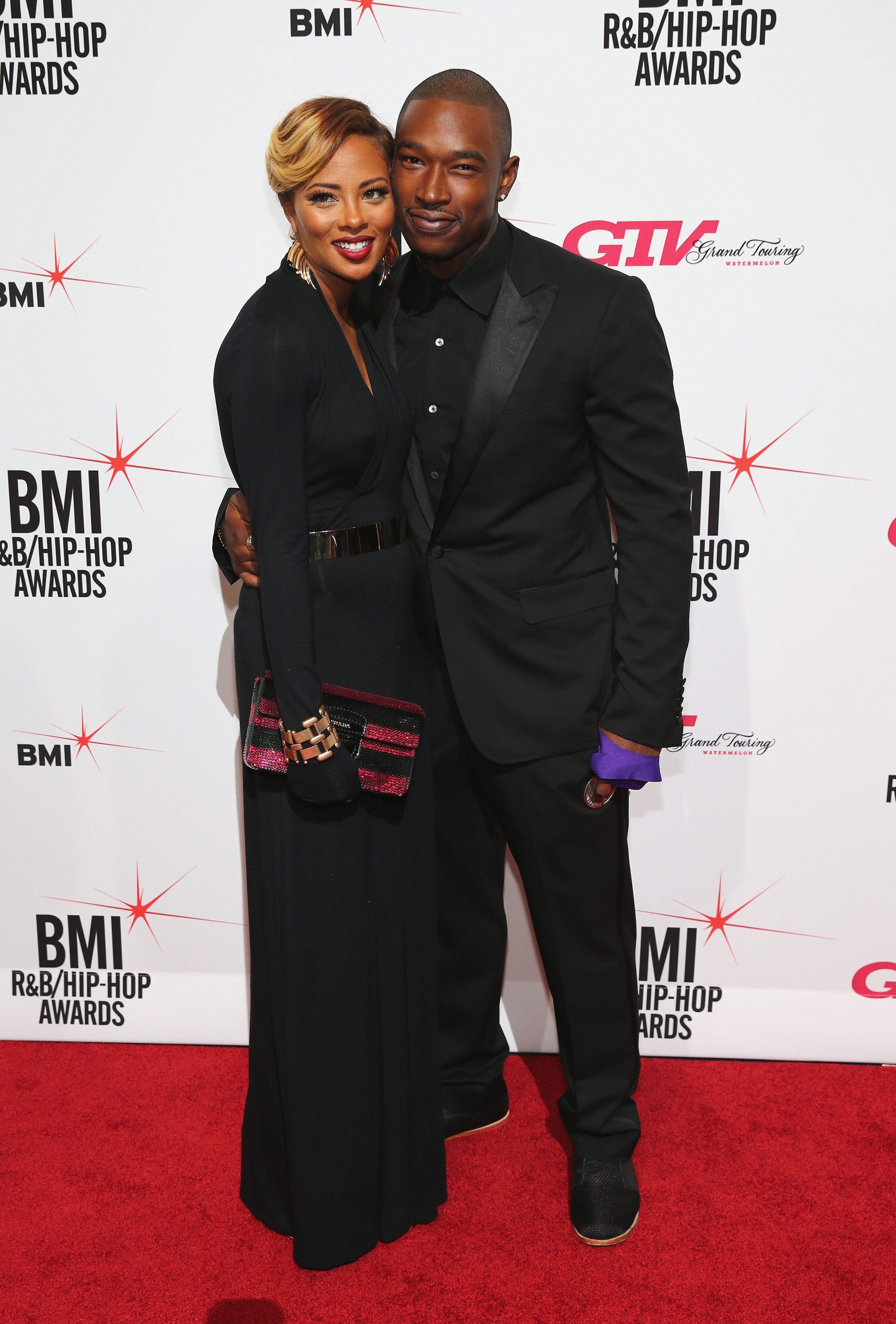 Eva Marcille and Kevin McCall attend 2013 BMI R&B/Hip-Hop Awards in New York   Source: Getty Images