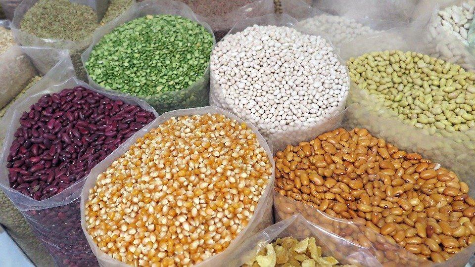 Variedad de granos. | Imagen: Pixabay