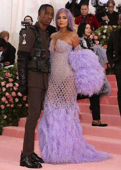 """Travis Scott and Kylie Jenner attend the 2019 Met Gala celebrating """"Camp: Notes on Fashion"""" at The Metropolitan Museum of Art in New York City.   Photo: Getty Images"""