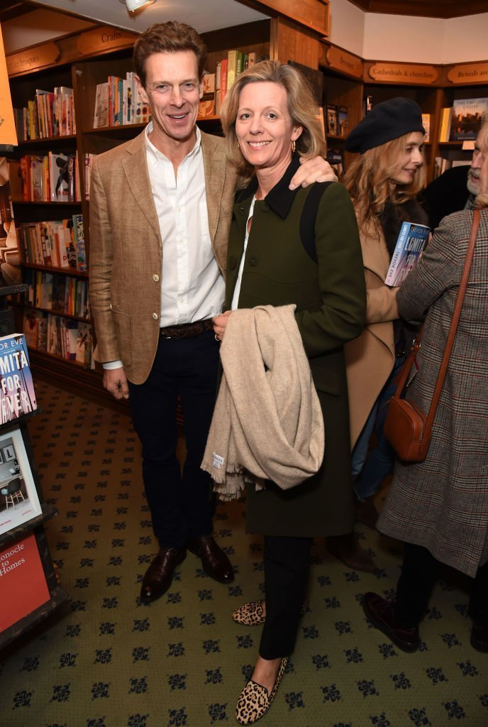 Marina Ogilvy and brother James on May 7, 2019 in London, England | Source: Getty Images/Global Images Ukraine