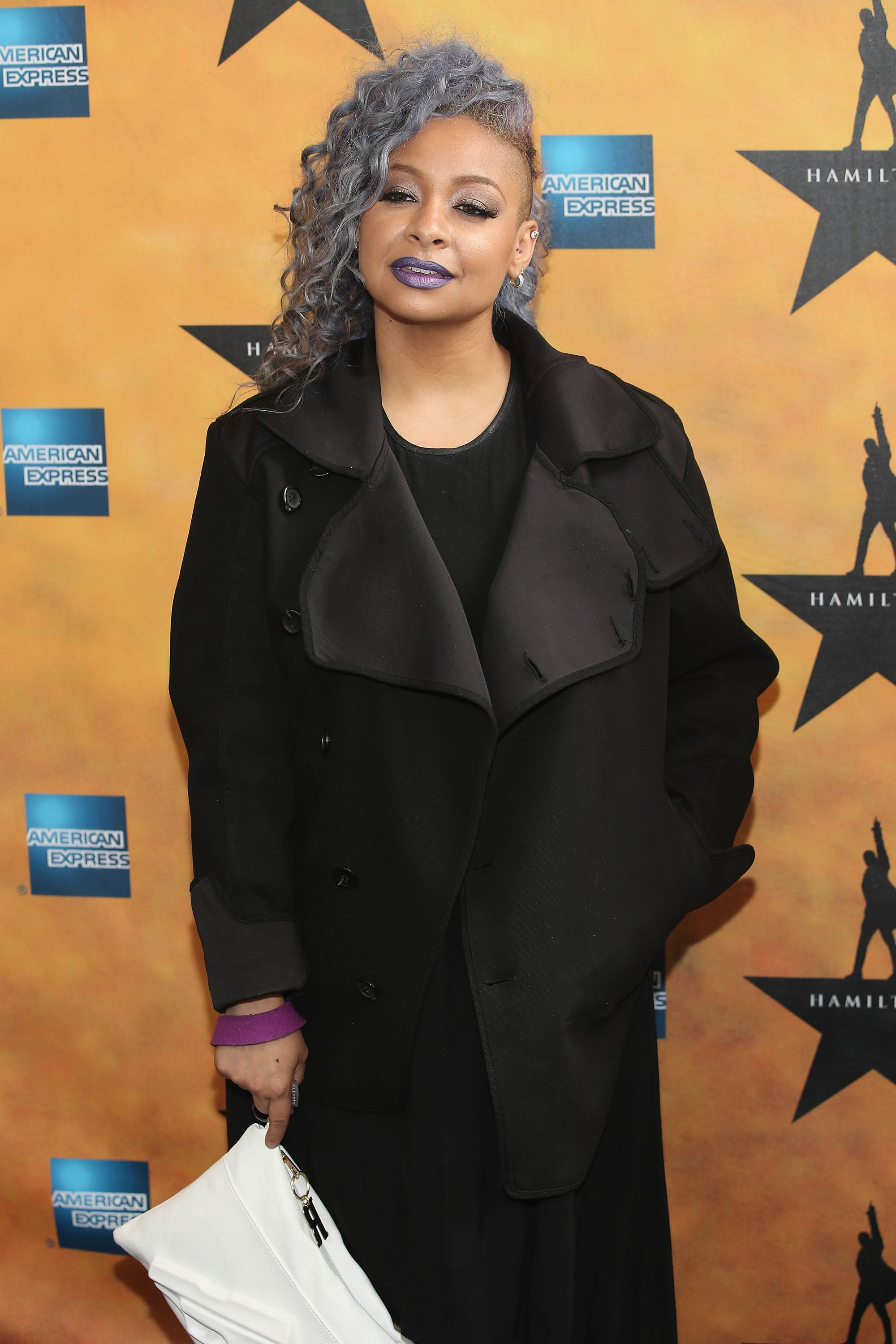 """Raven-Symone at the """"Hamilton"""" Broadway Opening Night at Richard Rodgers Theatre on August 6, 2015 in New York City 