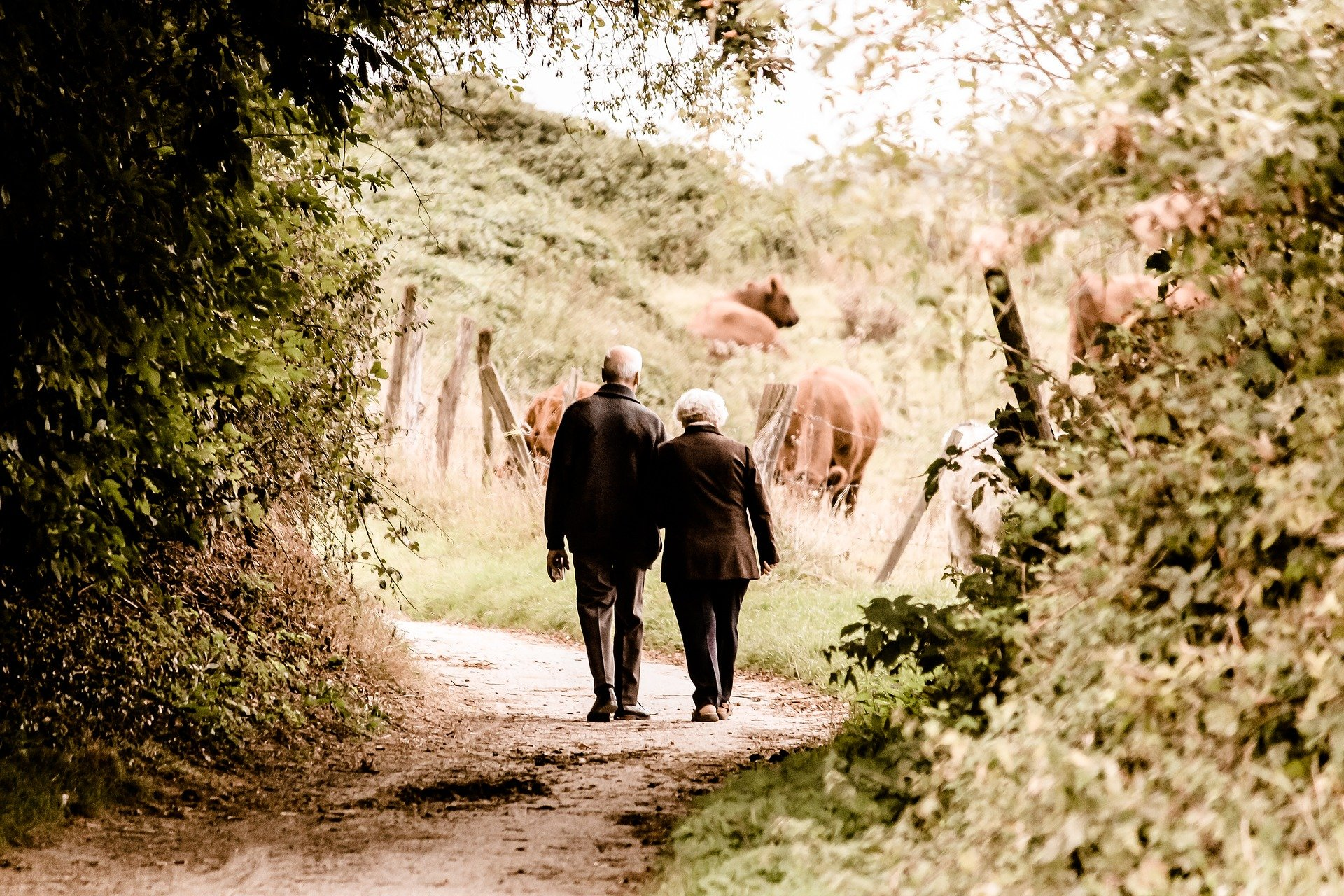 The old couple had been through so much together. | Photo: Pixabay/Susanne Pälmer