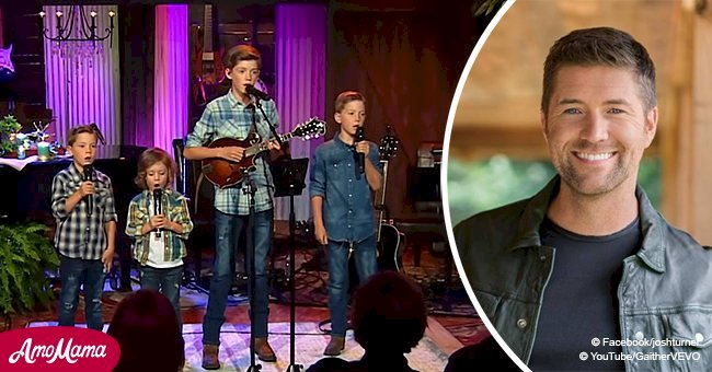 Josh Turner's Four Sons Took the Stage to Deliver an Amazing Performance of a Gospel Song