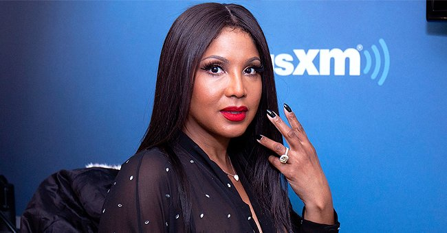 Toni Braxton's Oldest Son Denim Looks Handsome in Brown Hoodie and Beige Pants in New Photos