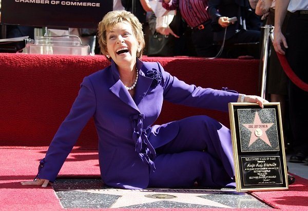 Judge Judy receives the 2304 star on the Hollywood Walk of Fame, on February 14, 2006 in Hollywood, California | Source: Getty Images