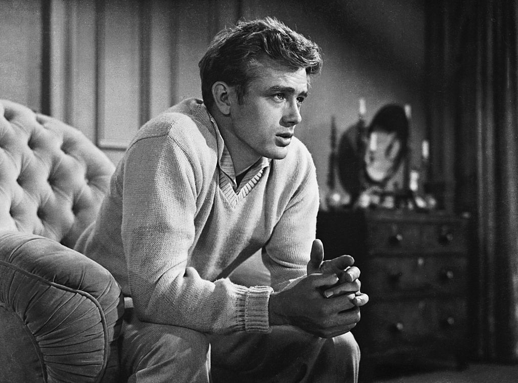 James Dean as Cal Trask in Elia Kazan's 'East of Eden' in 1954 | Source: Getty Images