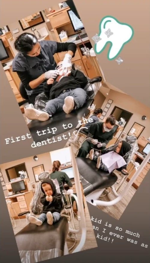 Tori Roloff shares her son's first visit to the dentist on instagram | Photo: Instagram/toriroloff