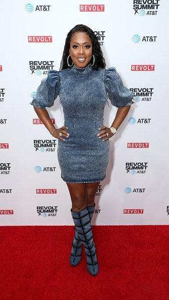 Remy Ma at the REVOLT X AT&T 3-Day Summit In Los Angeles.| Photo:Getty Images